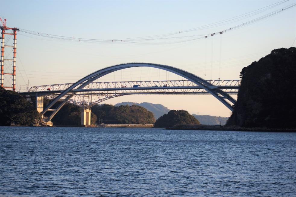 三角西港 新天草1号橋
