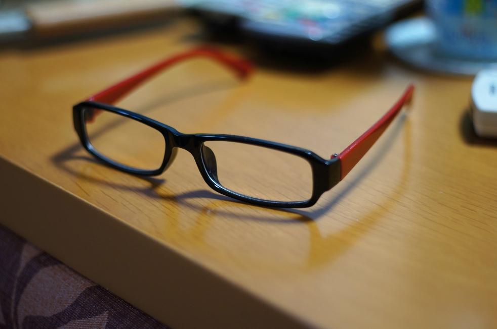 とうとう老眼鏡…