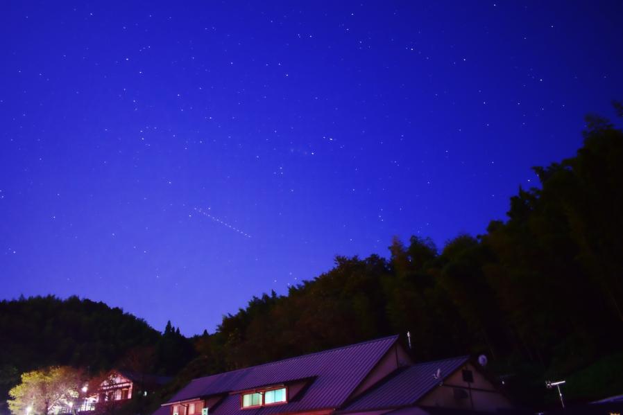 道の駅たちばな 星空撮影