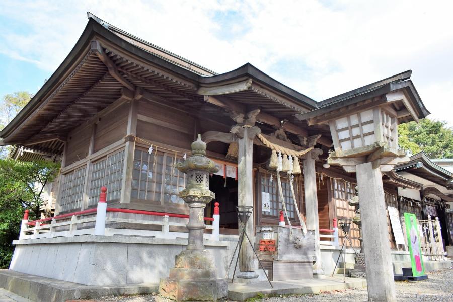 四山神社に参拝に行きました