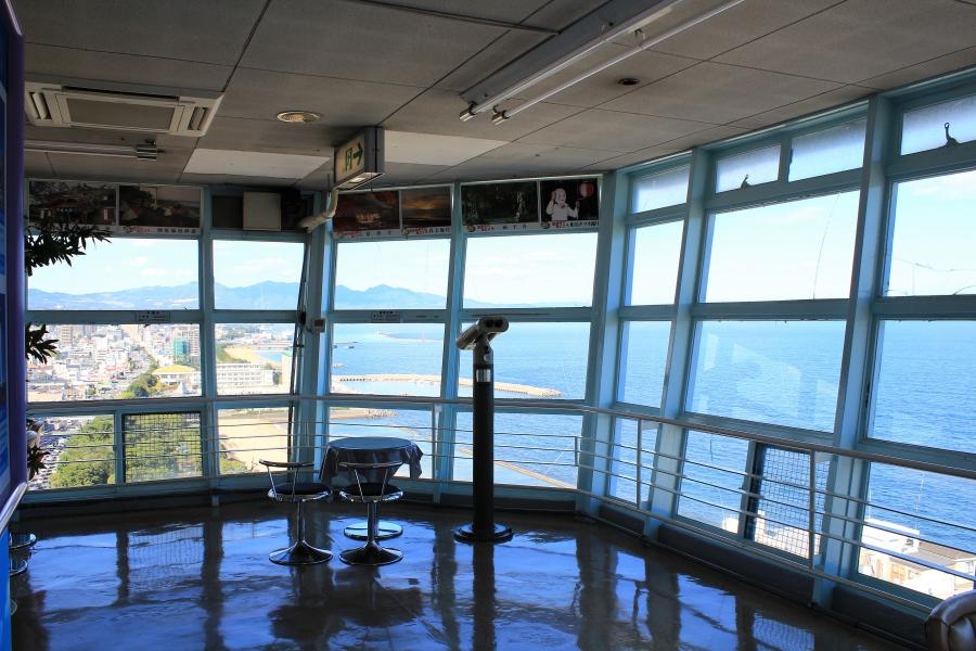 別府タワーからの景色