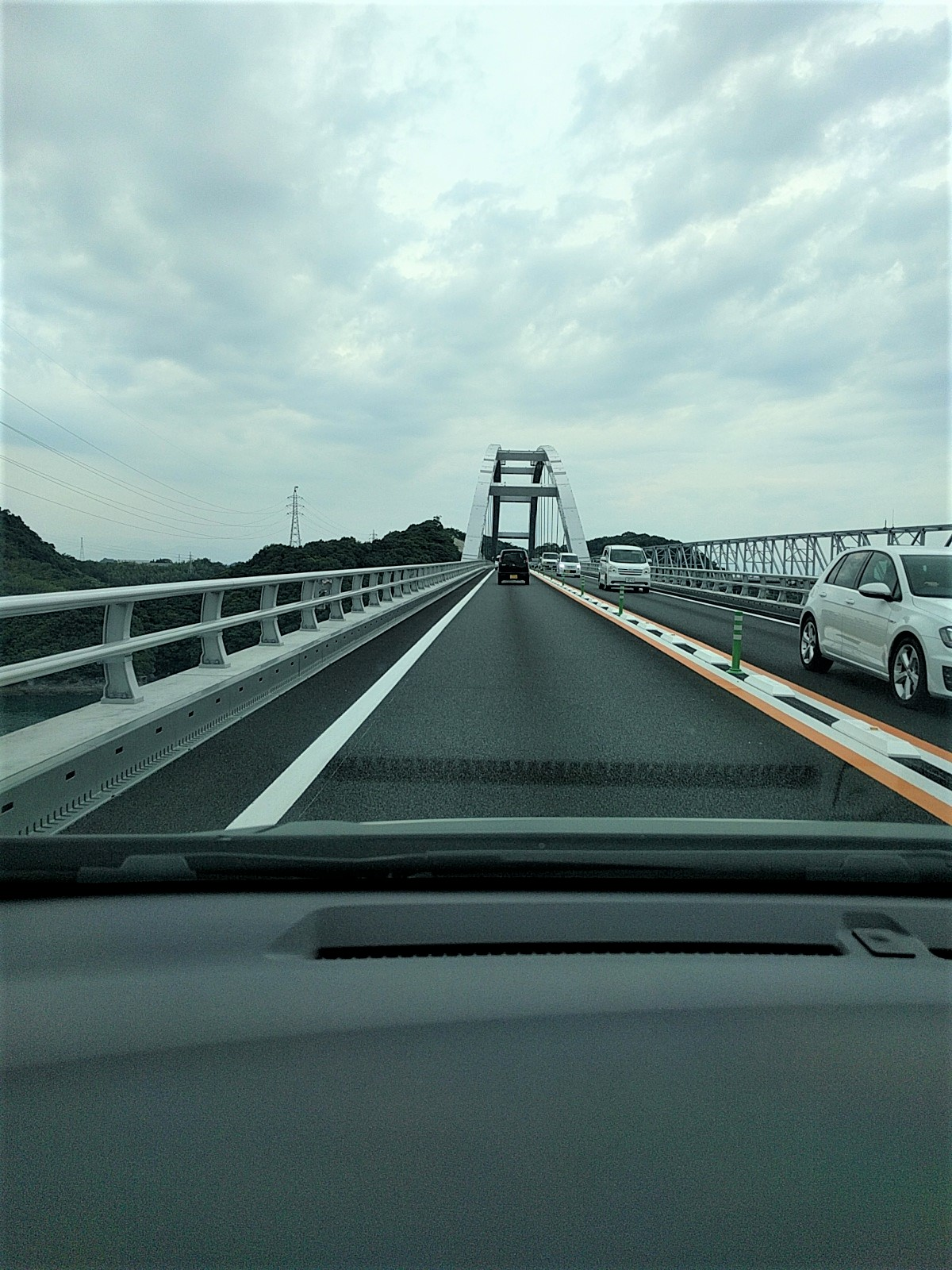 新天草1号橋渡ってきました