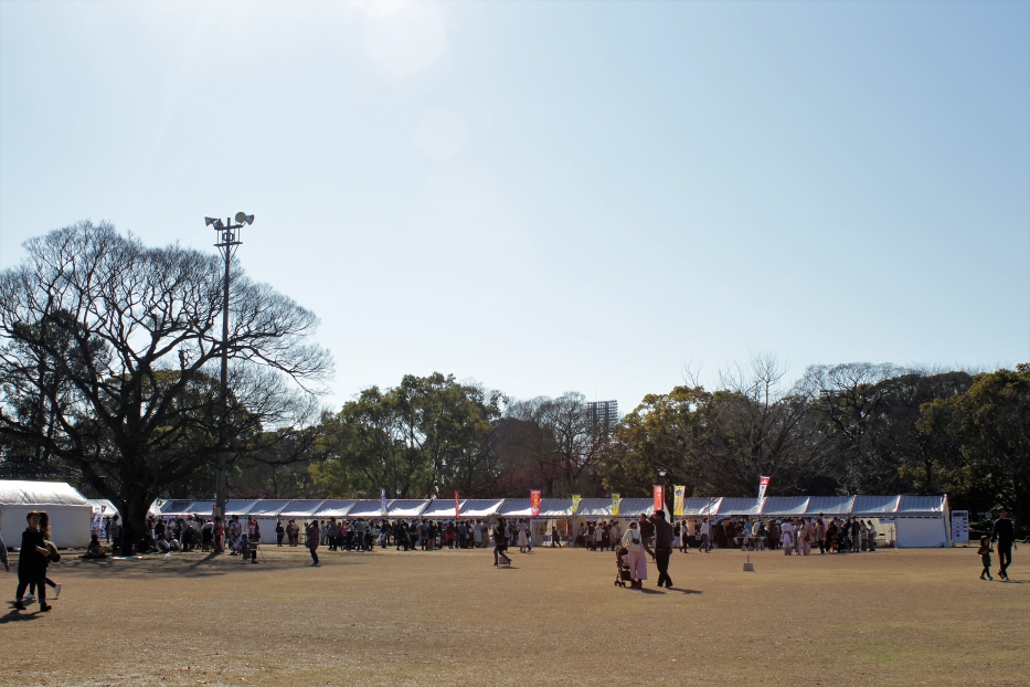 熊本城 春のお城まつり