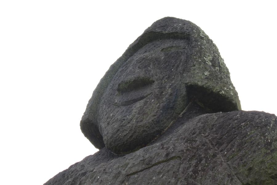 江田船山古墳公園 石人