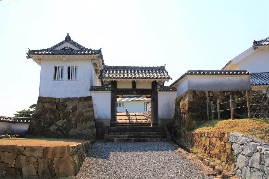 富岡城 本丸入口