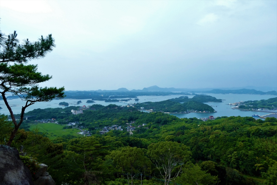 千巌山展望所からの景色